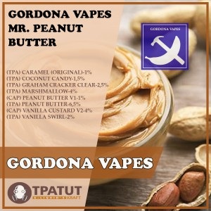 Gordona Vapes – Mr. Peanut Butter -ориг.