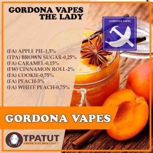 Gordona Vapes- The Lady -ориг.