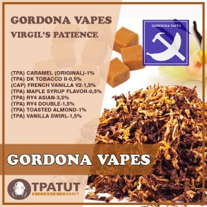 Gordona Vapes- Virgil's Patience -ориг.