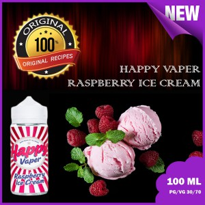 Happy Vaper -Raspberry ice cream