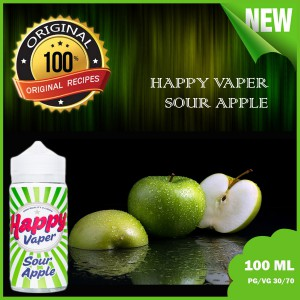Happy Vaper  -Sour Apple