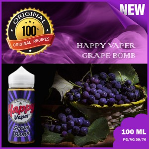 Happy Vaper  -Grape Bomb