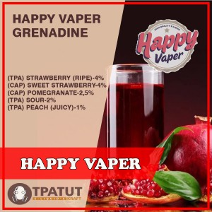 Happy Vaper -Grenadine