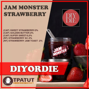 Jam Monster -Strawberry by ENYAWREKLAW