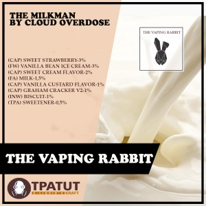 Vaping Rabbit - The Milkman -Original by Cloud Overdose