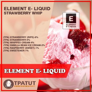 Element E- Liquid -Strawberry Whip