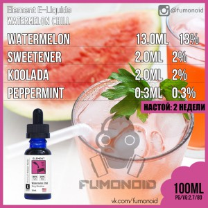 Element E- Liquid -Watermelon Chill